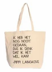 Custom Design Canvas Printed Tote Bag