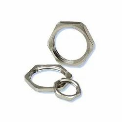 Hex Stainless Steel Lock Nut, Thickness: 2mm(Wall), Size: 1 To 3 Inch