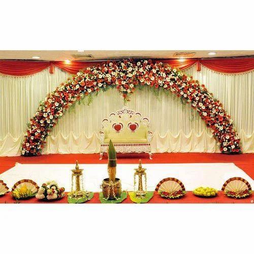 Flower Decoration Wedding: Wedding Stage Flower Decoration Service In Dhanori Bhairav