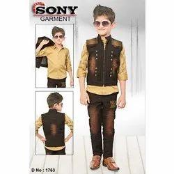 Shaded Boys Denim Jacket, Size: 4 - 10