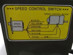 US-52 180W 220VAC Speed Controller