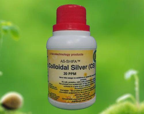 Colloidal Silver 20 Ppm