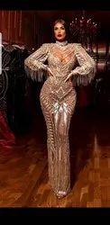 Tull Western Wear Embellished Dress