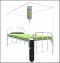 Hospital Bed with Canopy & Oxy Cylinder Stand