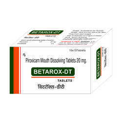 Piroxicam Mouth Dissolving Tablets