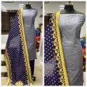 Cotton Linen Salwar Suit