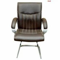 Leather Low Back Visitor Chair