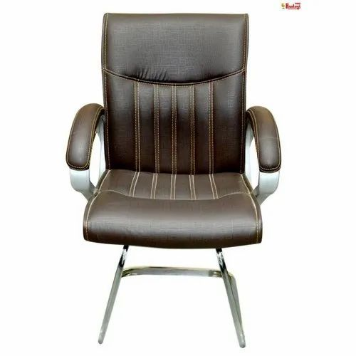 Superb Leather Low Back Visitor Chair Creativecarmelina Interior Chair Design Creativecarmelinacom