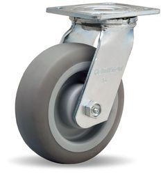 Low Height Heavy Duty Nylon Caster Wheels