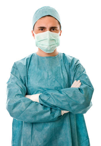 Surgeon Gown, Size: Extra-Large