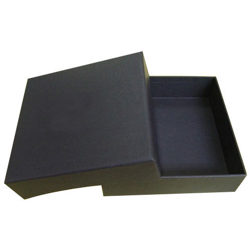 Black White Paper Garment Packaging Box