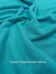 Cotton Pique Knitted Fabrics
