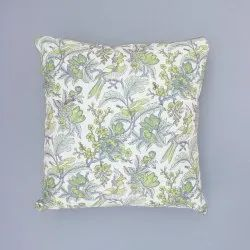 Green Valley Cotton Cushion Cover