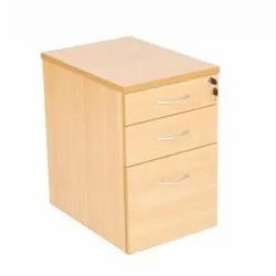 Wooden Pedestal Drawer
