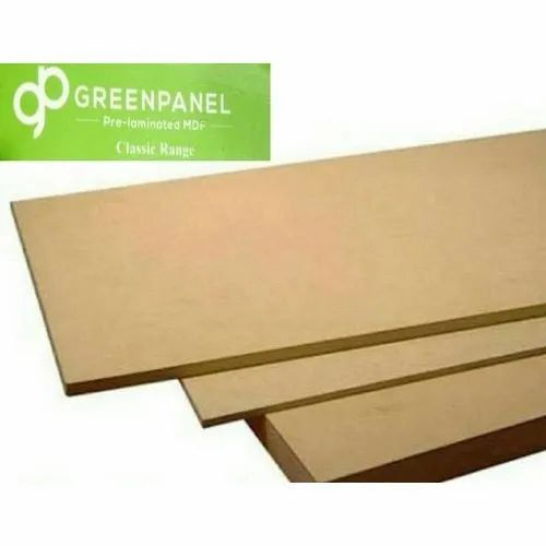 Green Panel MDF Board, Thickness: 2.3mm To 35mm, Finish Type: Matte
