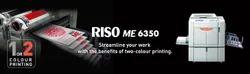 ME 6350 Riso Dual Drum Digital Duplicator, Warranty: Upto 1 Year