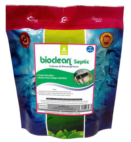 Bacteria For Septic Tank Treatment