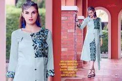 Rachna Muslin Pattern Cut Catalog Kurti For Women