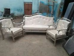 Stainless Steel Designer Sofa Set