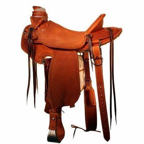 Western Leather Saddle - Custom Wade Saddle Manufacturer