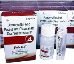 Amoxycillin And Potassium Clavulanate Oral Suspension 3.3g/30ml