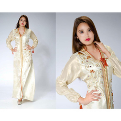 Ladies Gold Work Kaftan