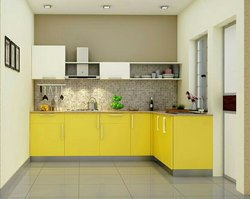 L Type Modular kitchen, in Hyderabad And Secunderabad, Type Of Property Covered: Residential
