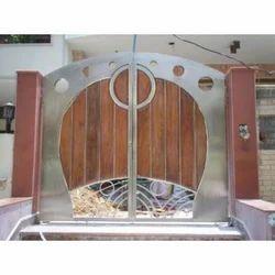 Designer Stainless Steel Gates