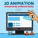 15 Days Mp4 Full Hd 2d Animation Service