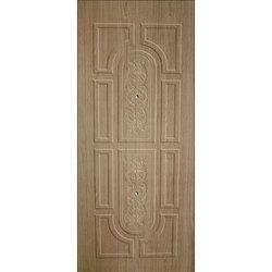 Hinged Polished Wooden PVC Door, Interior