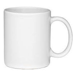 Ceramic White Mug 11oz