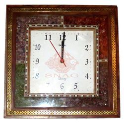 Gems Stone Wall Clock