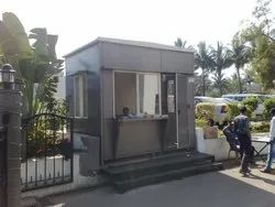Security Cabin 8'0 X 8'0