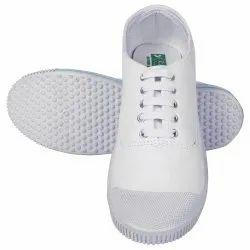 Rnt White Canvas, PT Shoes School Shoes