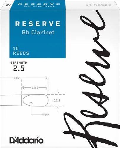 Rico RCB1030 Royal Bb 3 Clarinet Reed 10 Pack