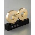 Brass Award Trophy