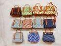 MultiColor Ikkat Hand Bags