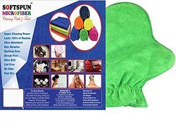 Softspun Microfiber Multipurpose Dual Sided Glove & Mitt, For Automotive Industry