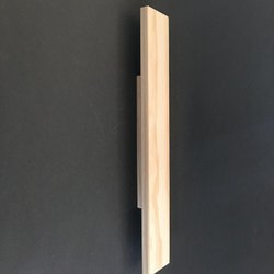 Wooden Wardrobe Handle