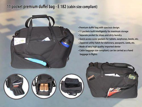 Pocket Premium Duffel Bag at Rs 1450  piece  ef67ccad2c28f
