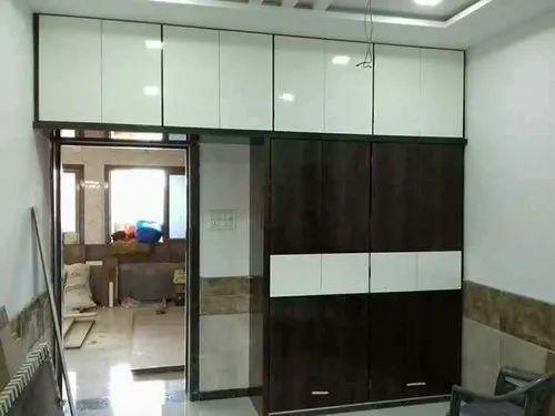 Wooden Sliding Door Bedroom Wardrobe For Home Rs 68000 Piece Sandeep Consultancy Services Id 20568442762