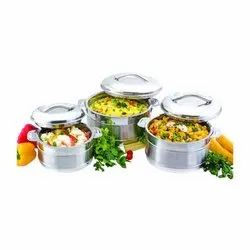 Esteelo Avino Gift Set Stainless Steel insulated Hot Pot Casserole
