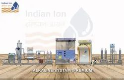 Industrial Alkaline water Treatment Plant