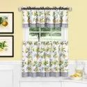 Tier And Valance Kitchen Curtain Set