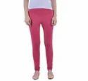 Plain Dollar Missy Fuchsia Pink Color Slim Fit Comfortable Churidar Legging