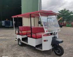 10+1 Tavas Electric Rickshaw, Vehicle Capacity: 8 Seater
