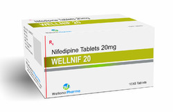 Nifedipine Tablets, Packaging Size: 10 X 10 , Packaging Type: Blister