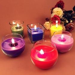 Gel Wax Paraffin Candle Fragrances, Packaging Type: HDPE Cans