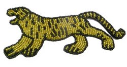 Tiger Beaded Patches