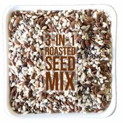 Chia-Sesame-Flax 3-in-1 Roasted Seeds Mix